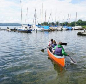 Paddeltour auf dem Ratzeburger See